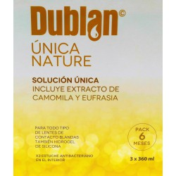DUBLAN ÚNICA NATURE 3X360ml