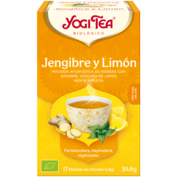 yogi tea gingebre i llimona